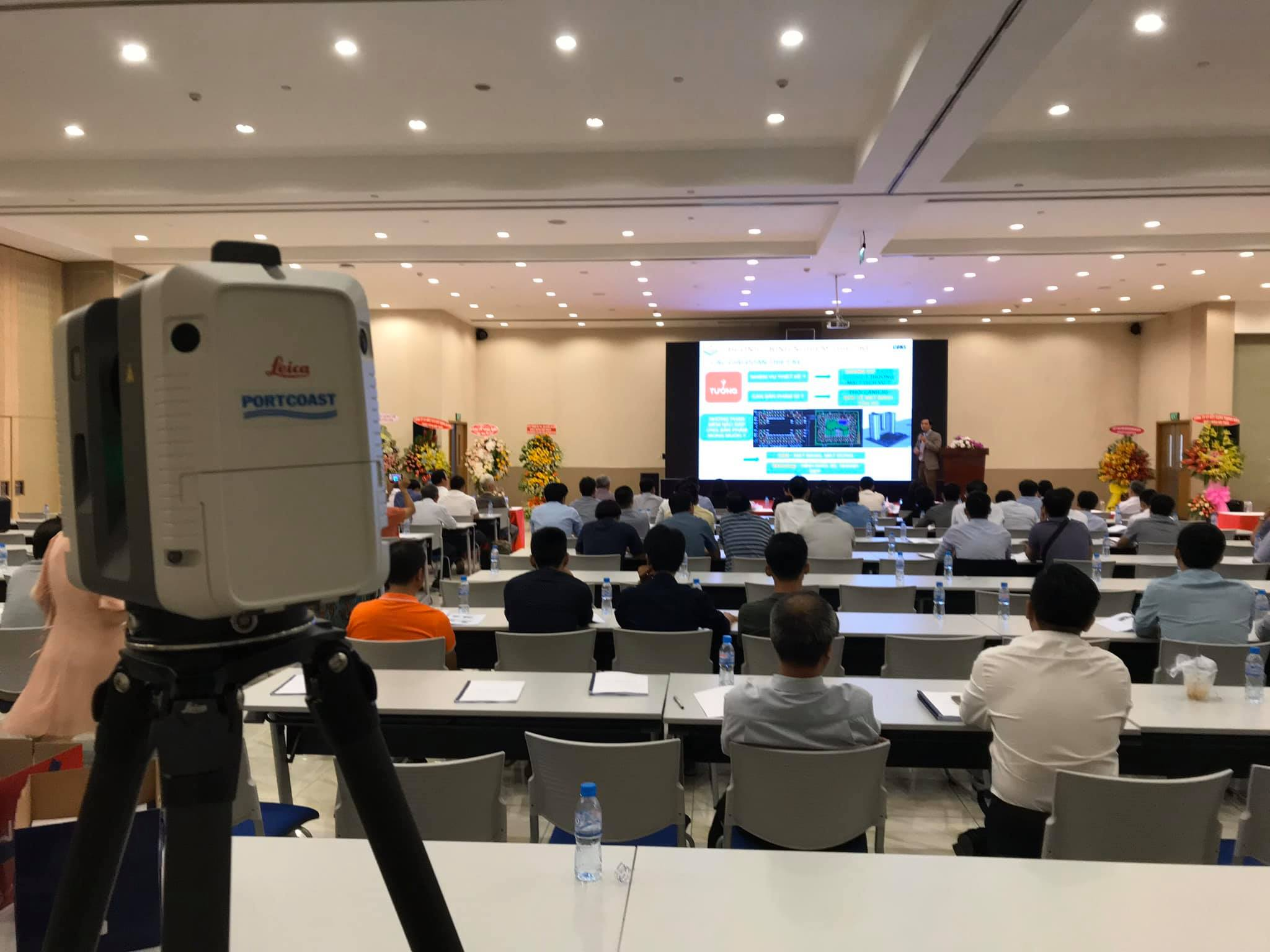 "Seminar on application of BIM and ""3D Laser Scanning"" in construction industrial"