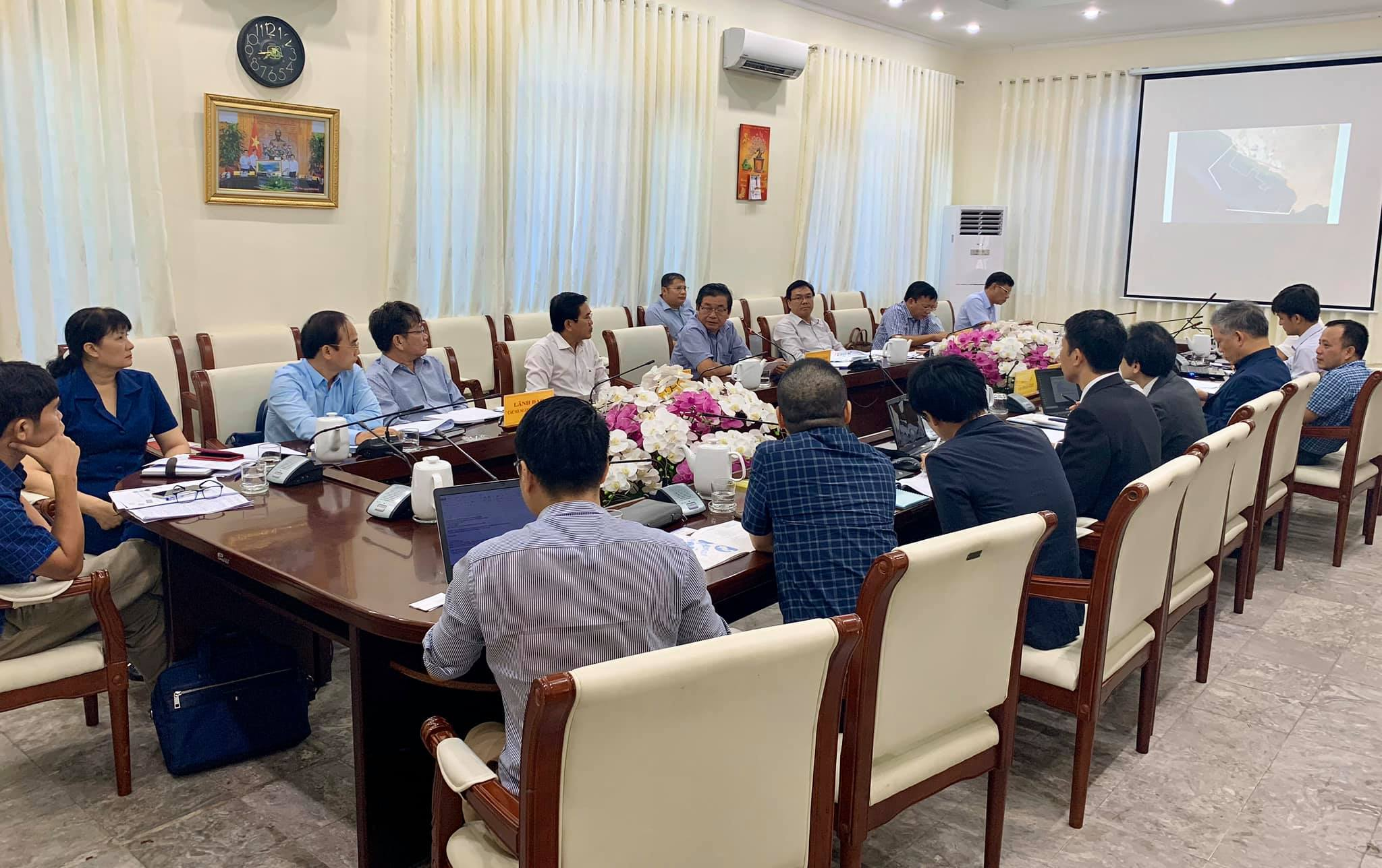 Meeting about Ca Na Power Complex & LNG Terminal