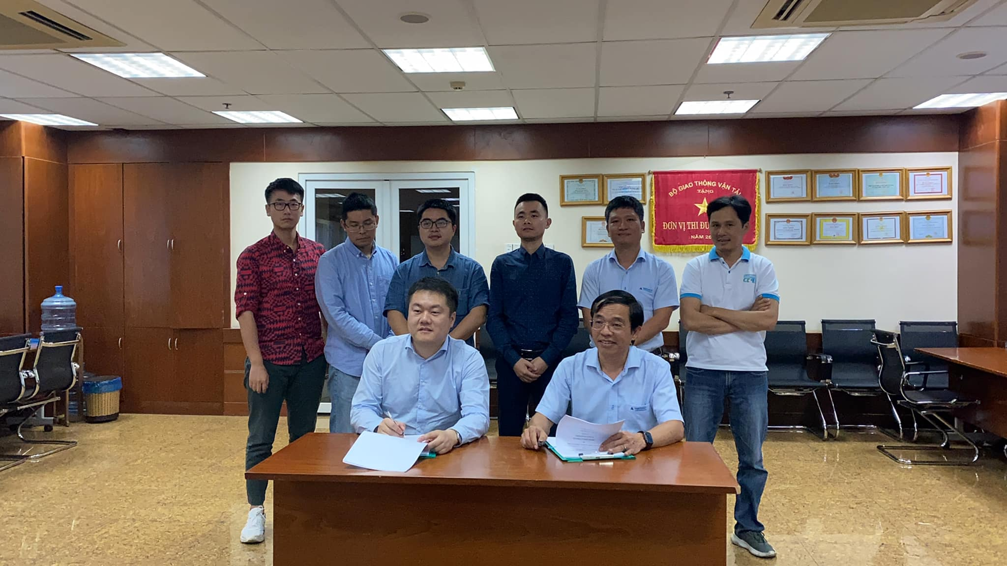 Portcoast and Huadong Power sign agreement