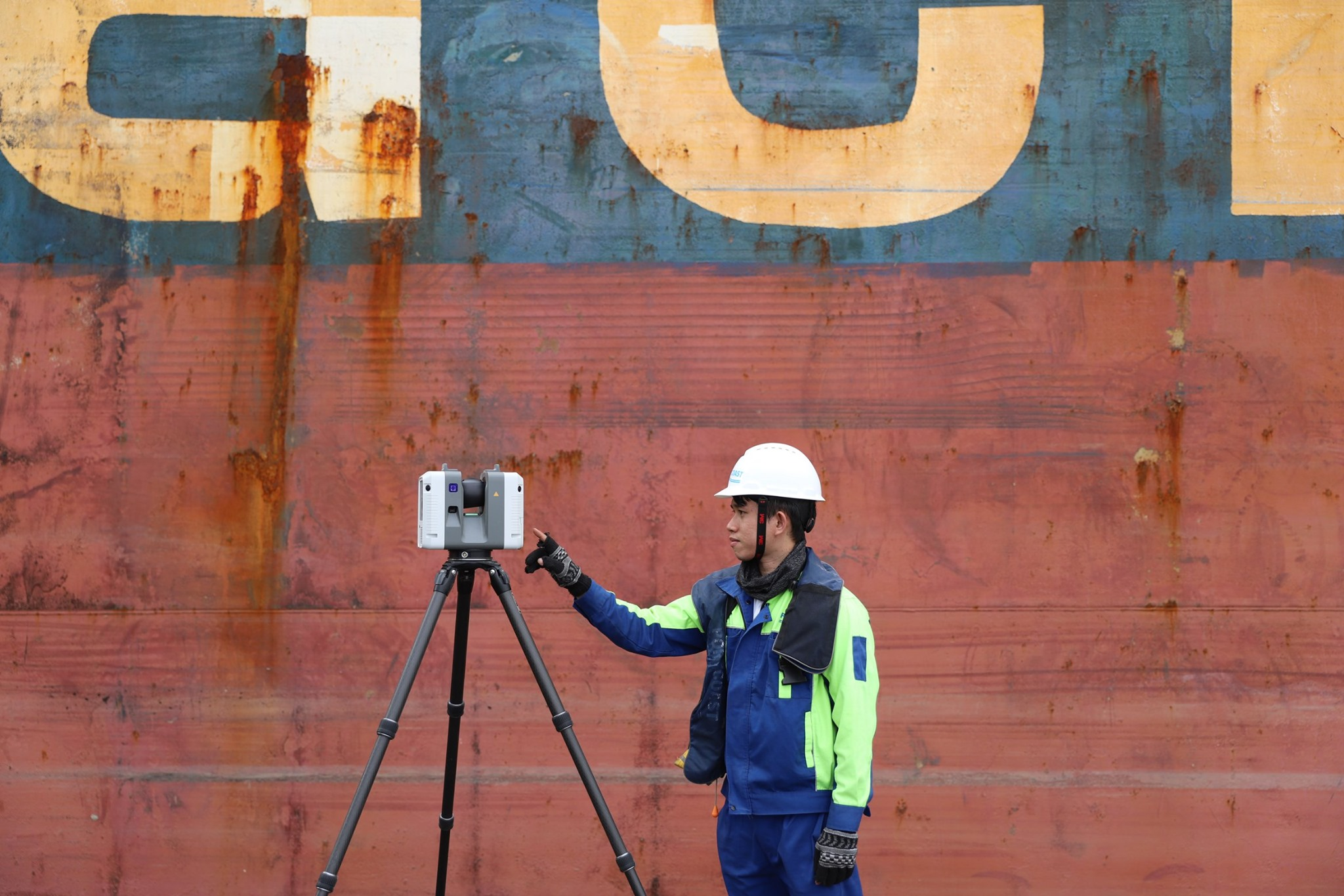 Application of 3D laser scanning for building the as-built model at Ba Ria Serece Port