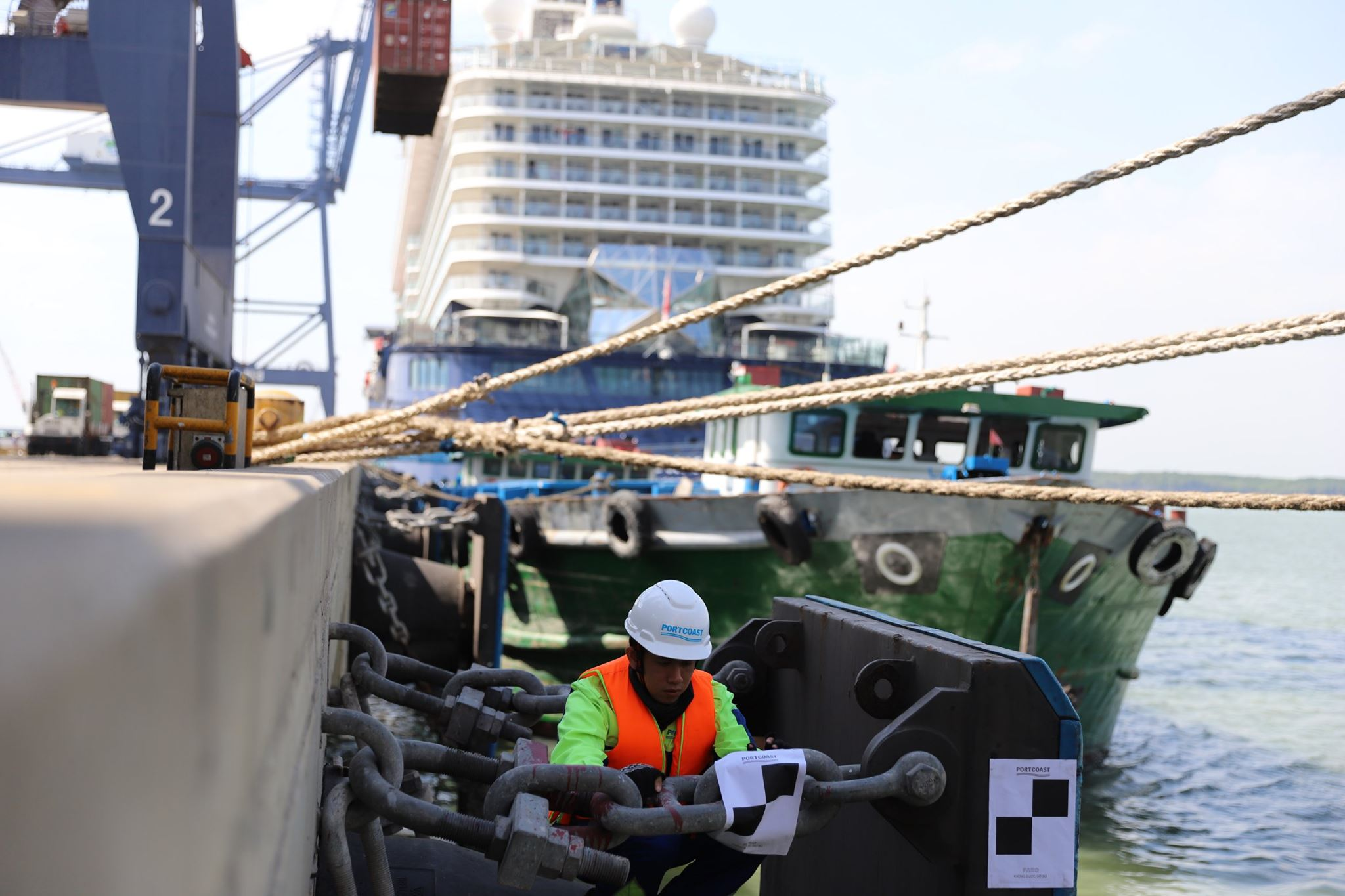 Construction inspections work at SP-SSA International Terminal (SSIT)
