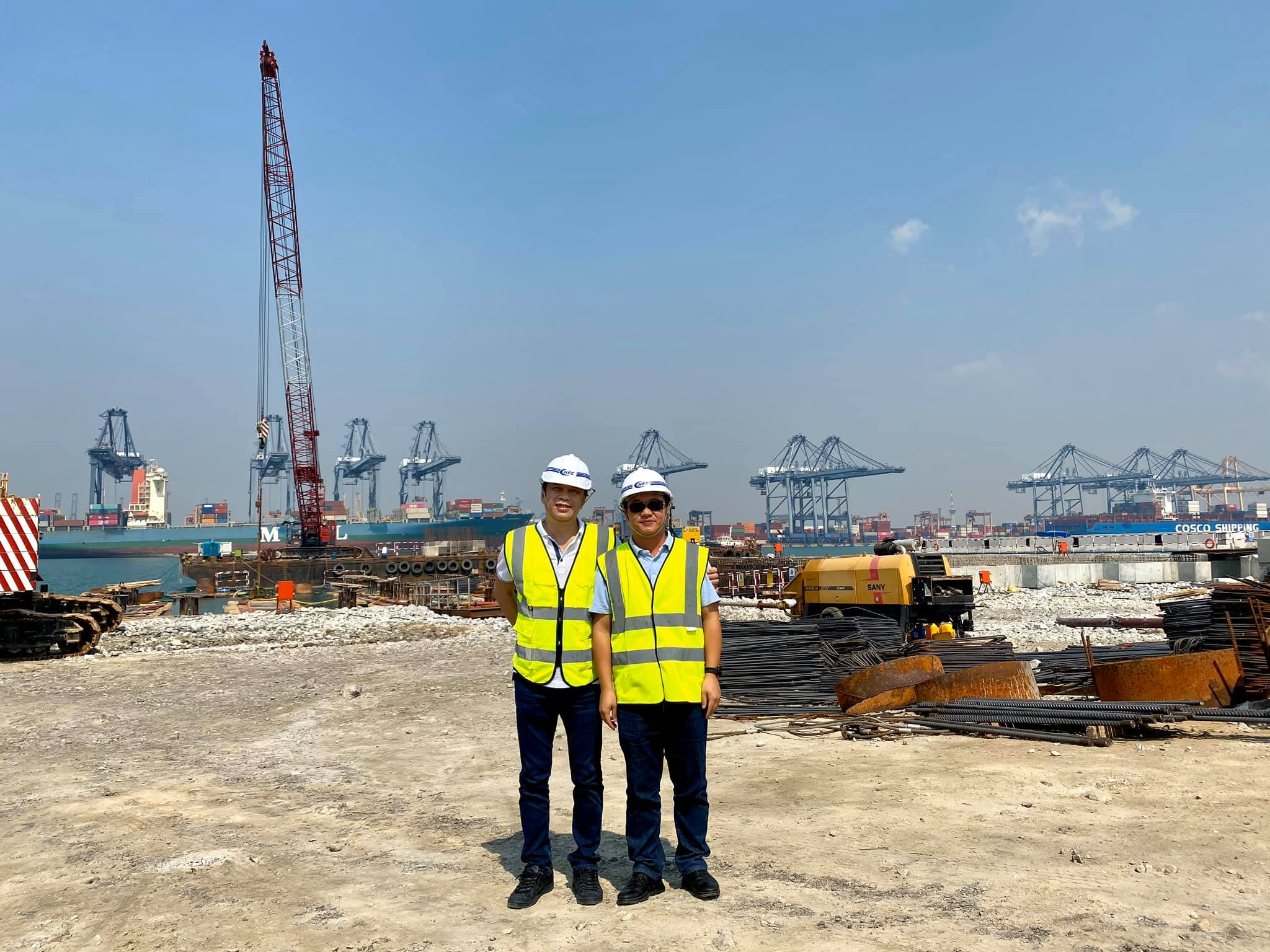 Visiting CHEC Company and Laem Chabang Port - Hutchison Ports Thailand