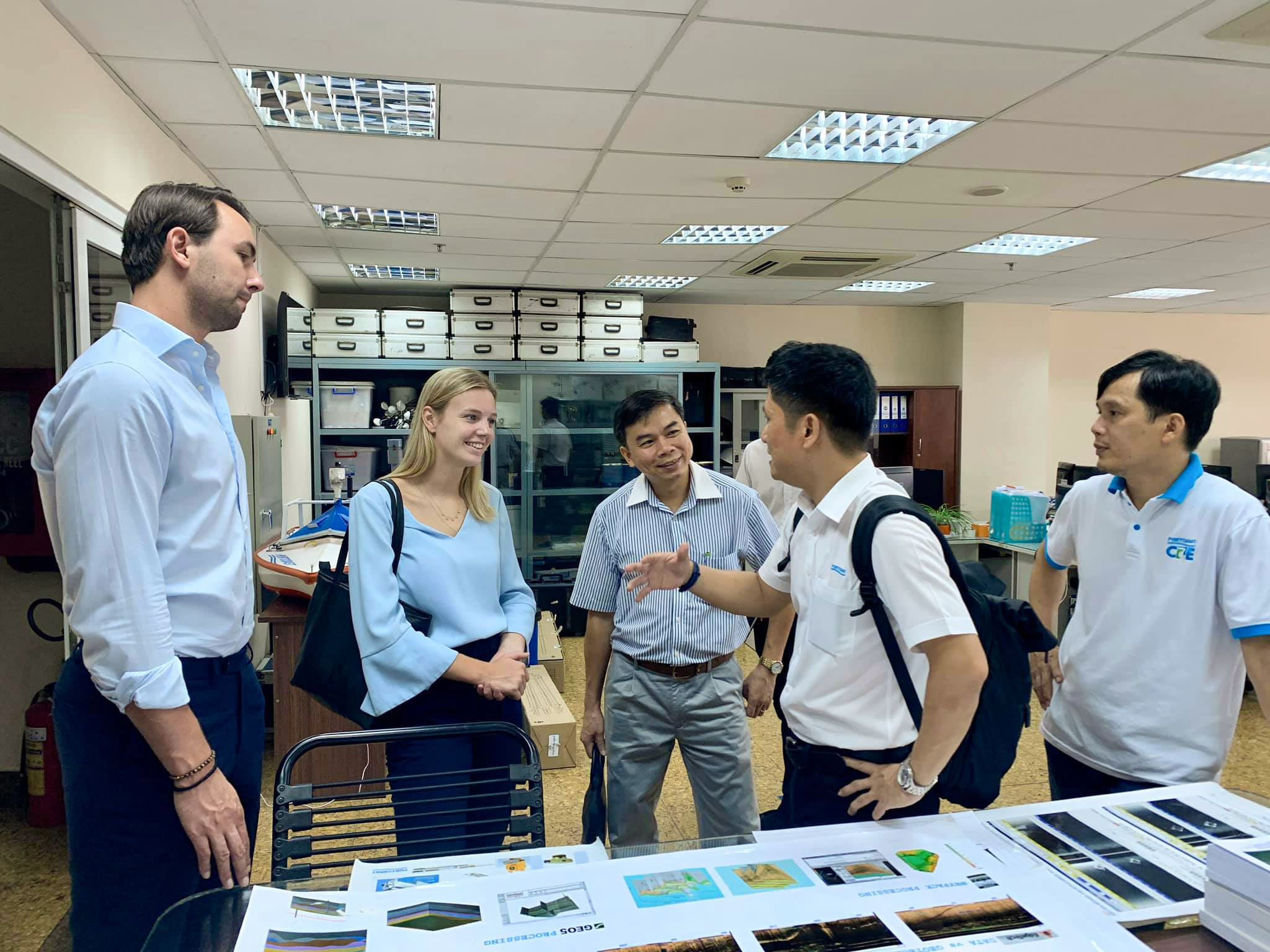 Meeting with Holland consultant for port planning in Vietnam