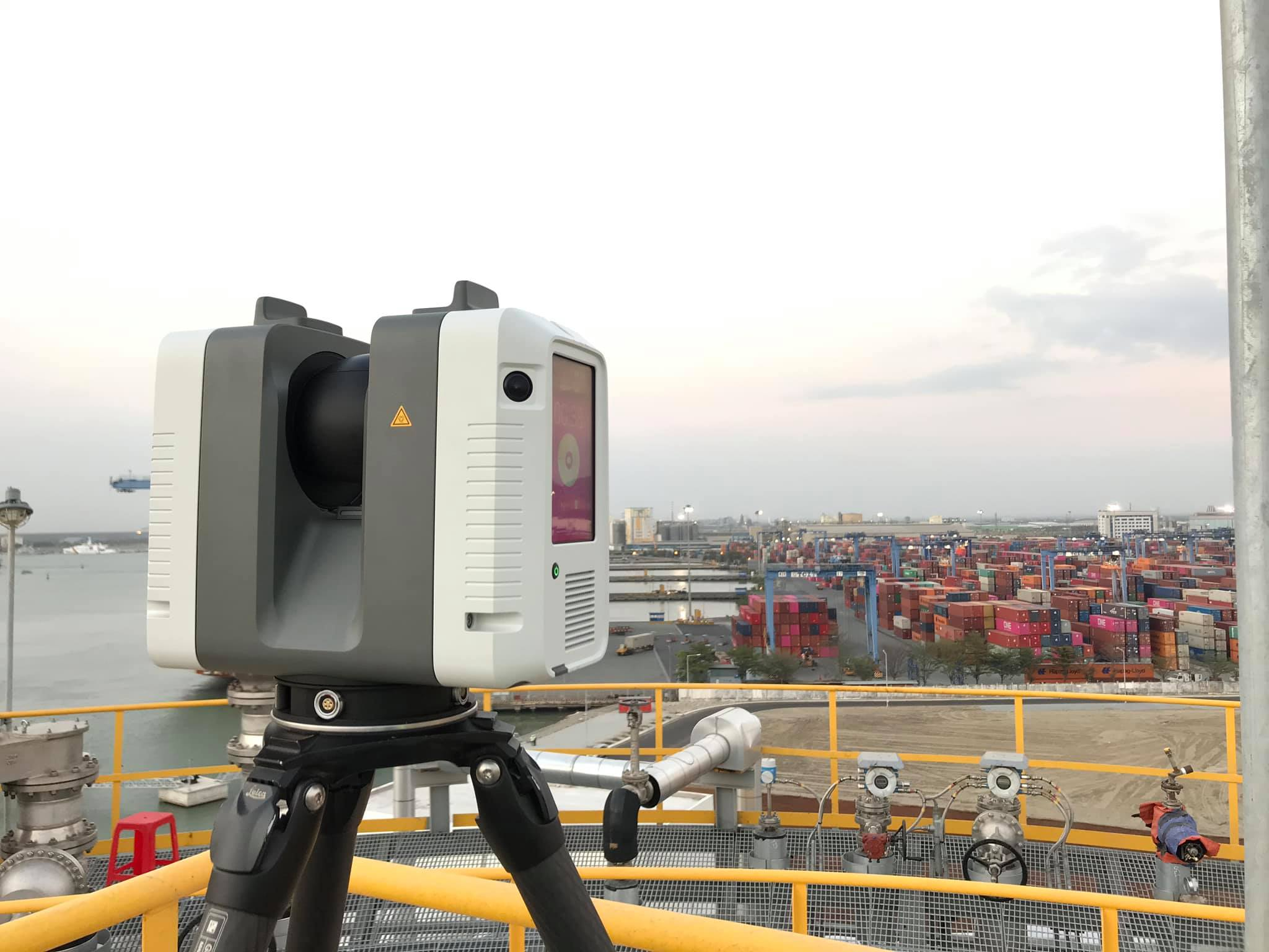 Application of 3D laser scanning in scan-to-BIM project at Hyosung Vina Chemicals Port