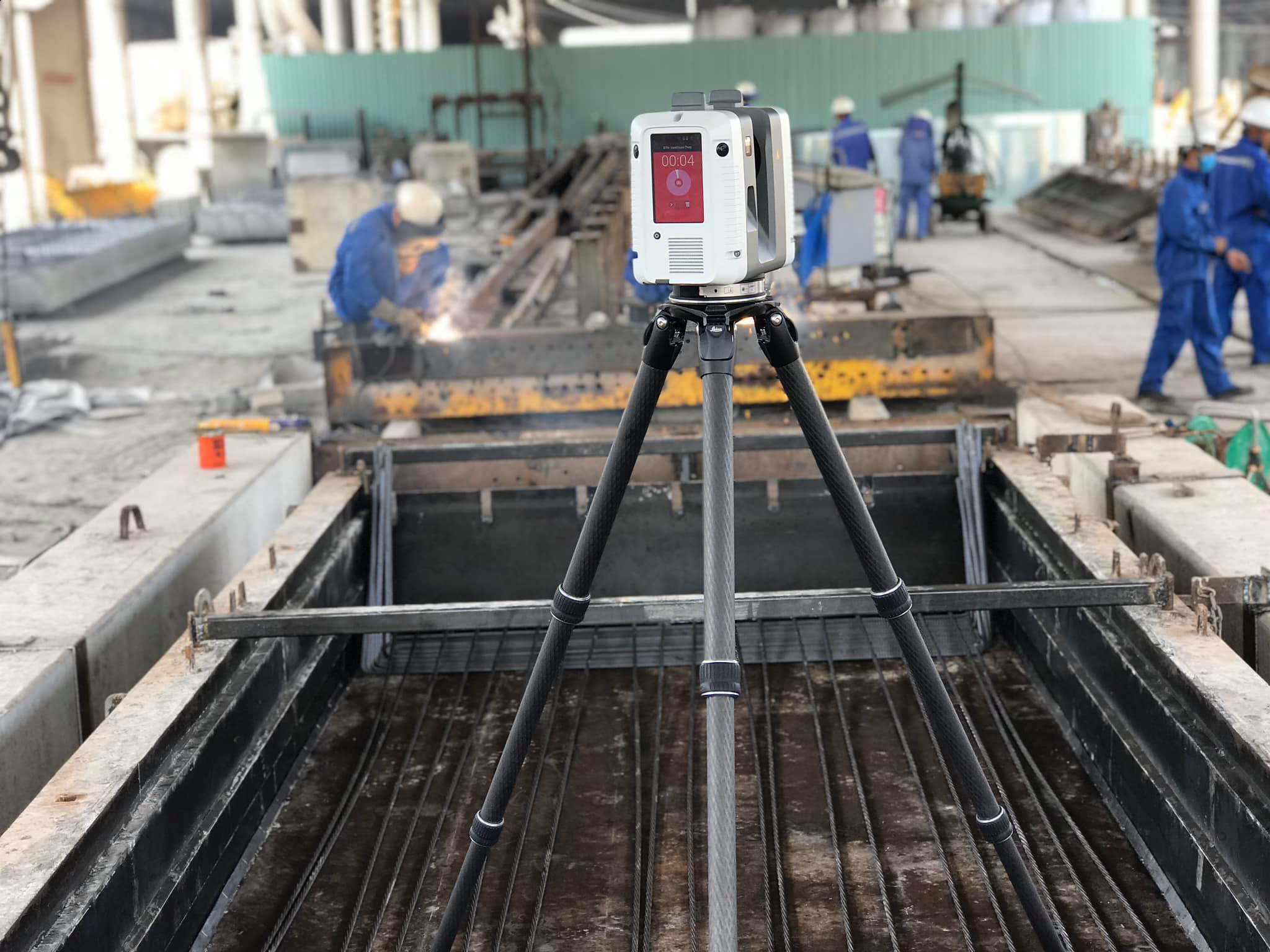 Checking and accepting of construction phases by 3D laser scanning technology
