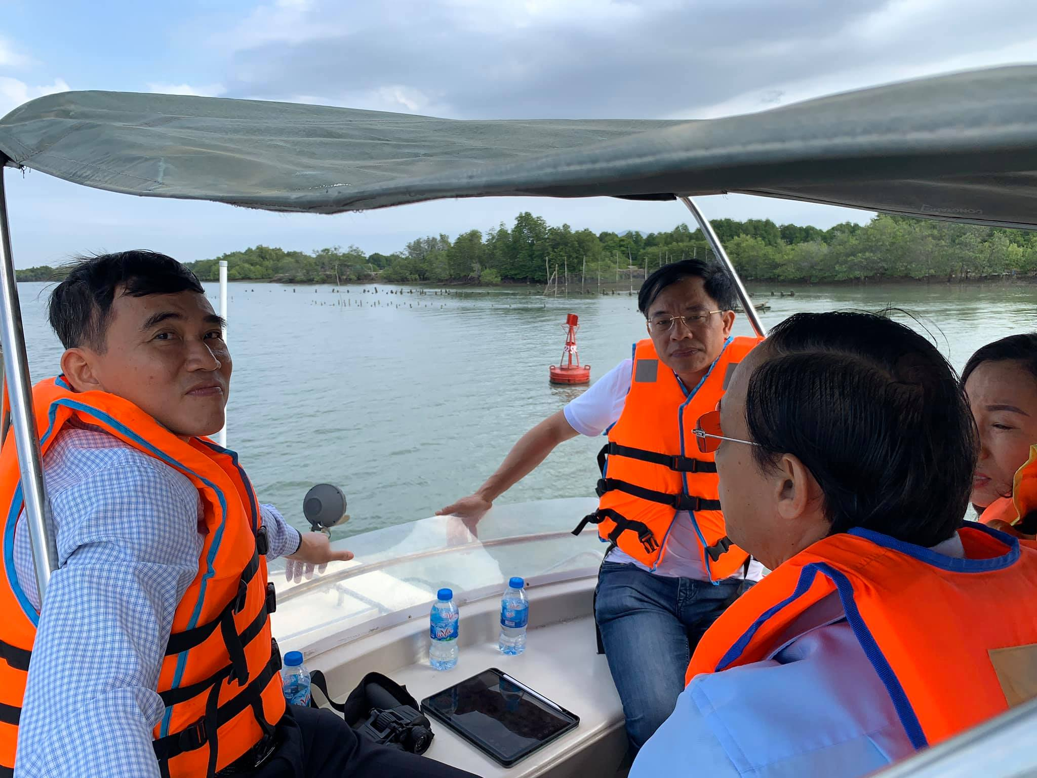 Visit to inland waterway port and Cai Mep Thi Vai seaport system