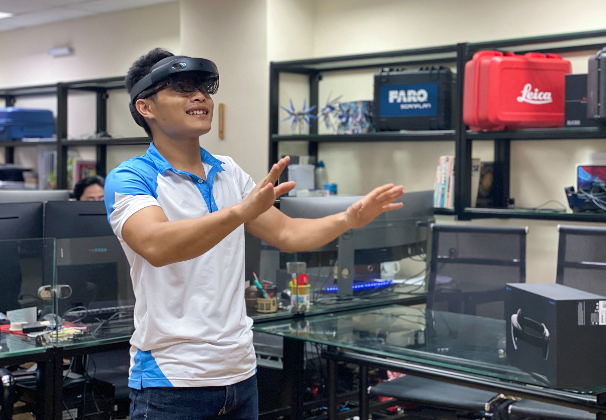 First Mircosoft Hololens 2  in the construction industry