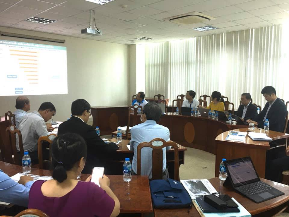 Meeting with Ba Ria - Vung Tau Department of Transport