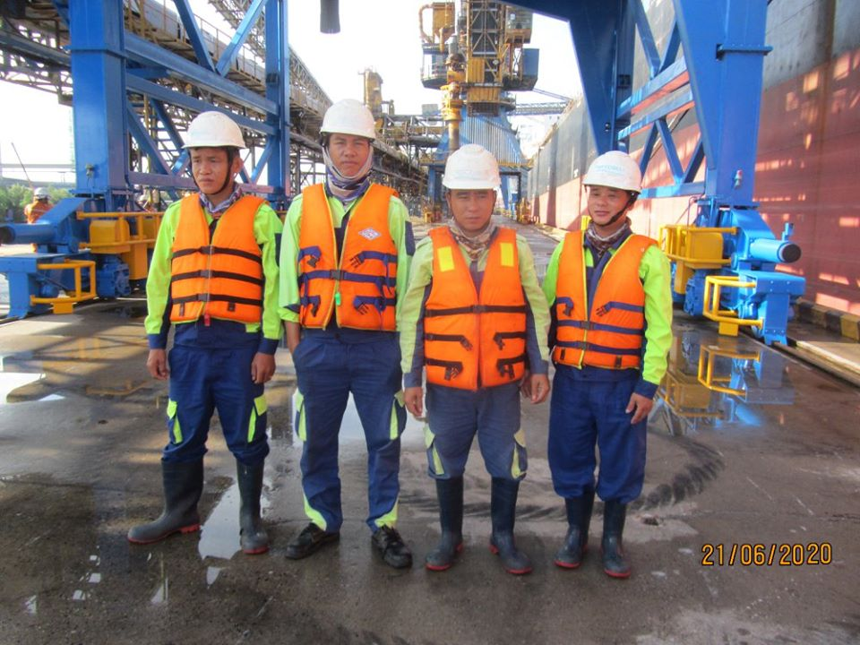 Inspection and verification of structure Upgrading of Interflour port