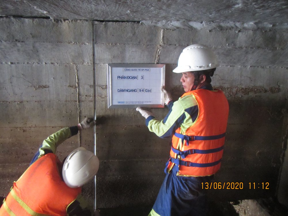 Periodical Structural Inspection and Verification for SP-PSA International Port