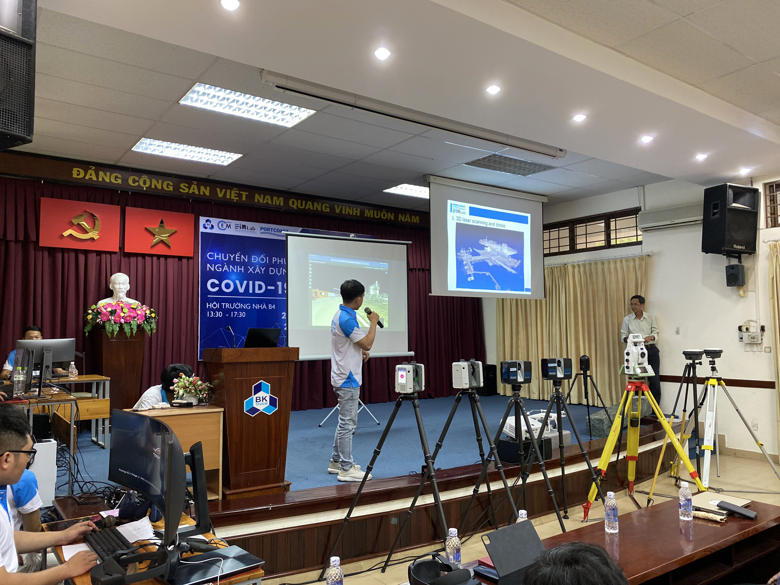 "Seminar ""Construction Managing Approach during COVID-19"""