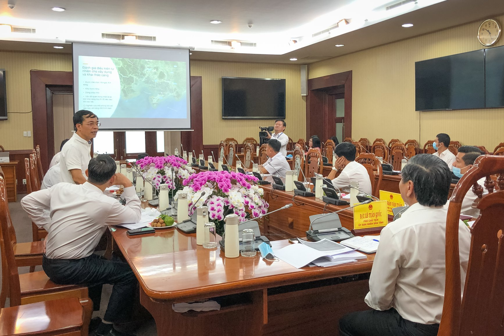 """Vung Tau Cruise Terminal Project"" Presentation in Ben Dinh"