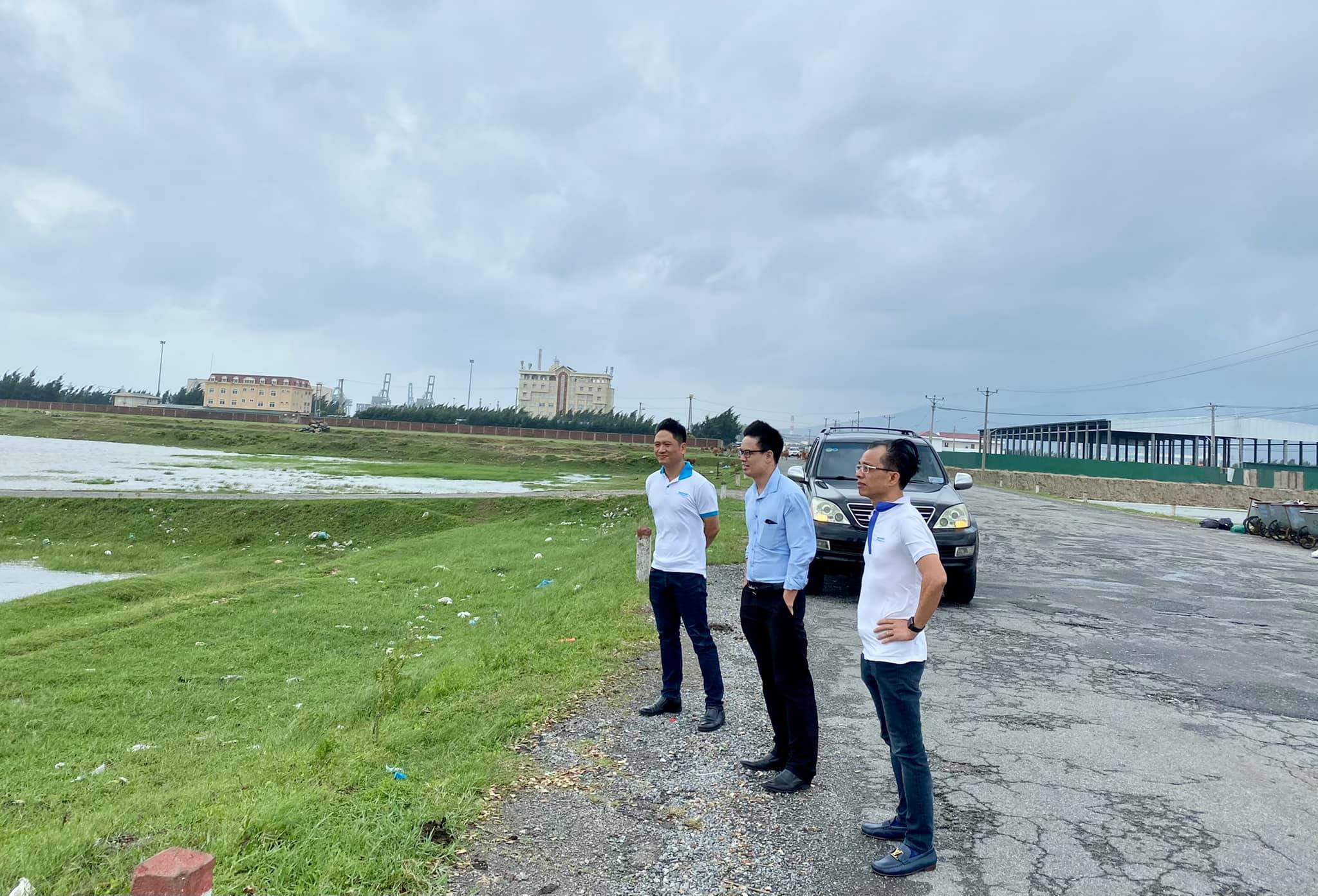 Meeting for developing logistics area of Son Duong, Ha Tinh Province