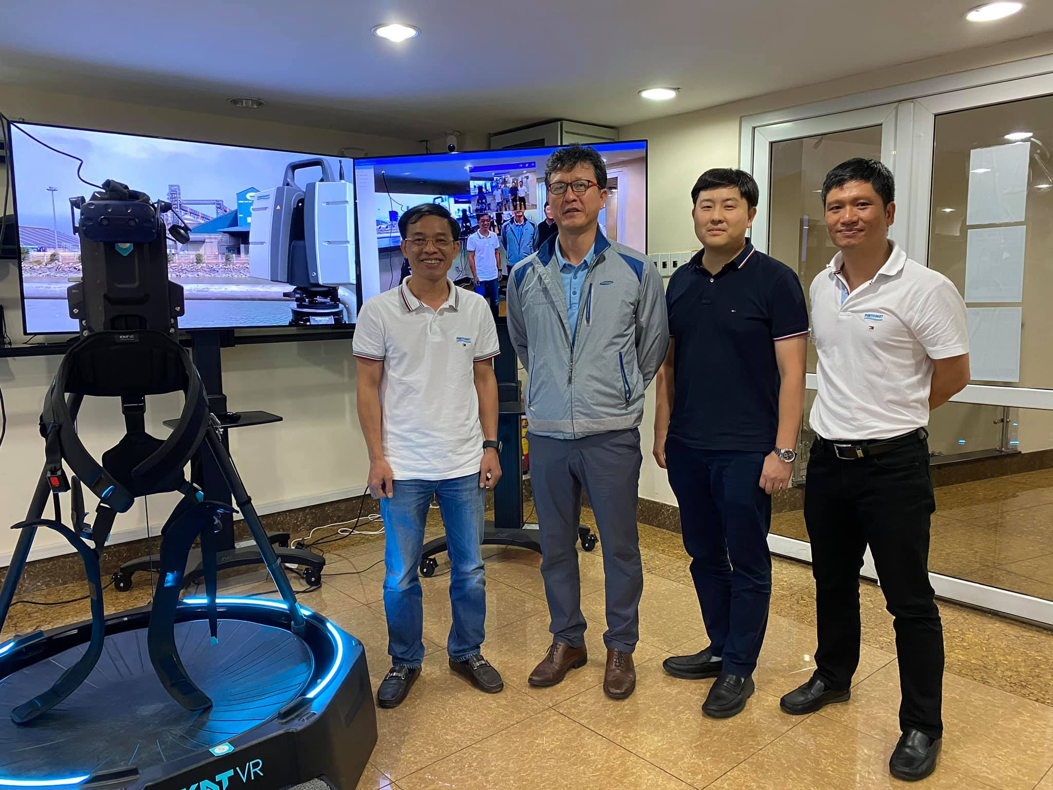 Samsung C&T managers visited Portcoast