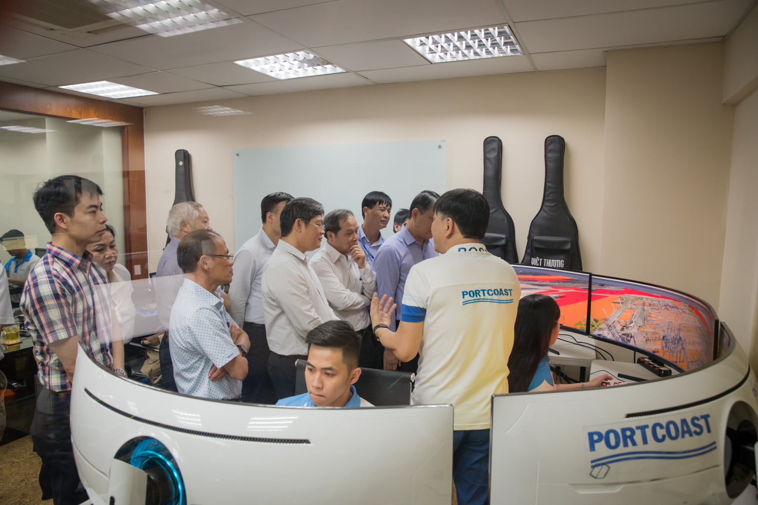 Portcoast welcomed Vietnam Electricity Corporation(EVN)