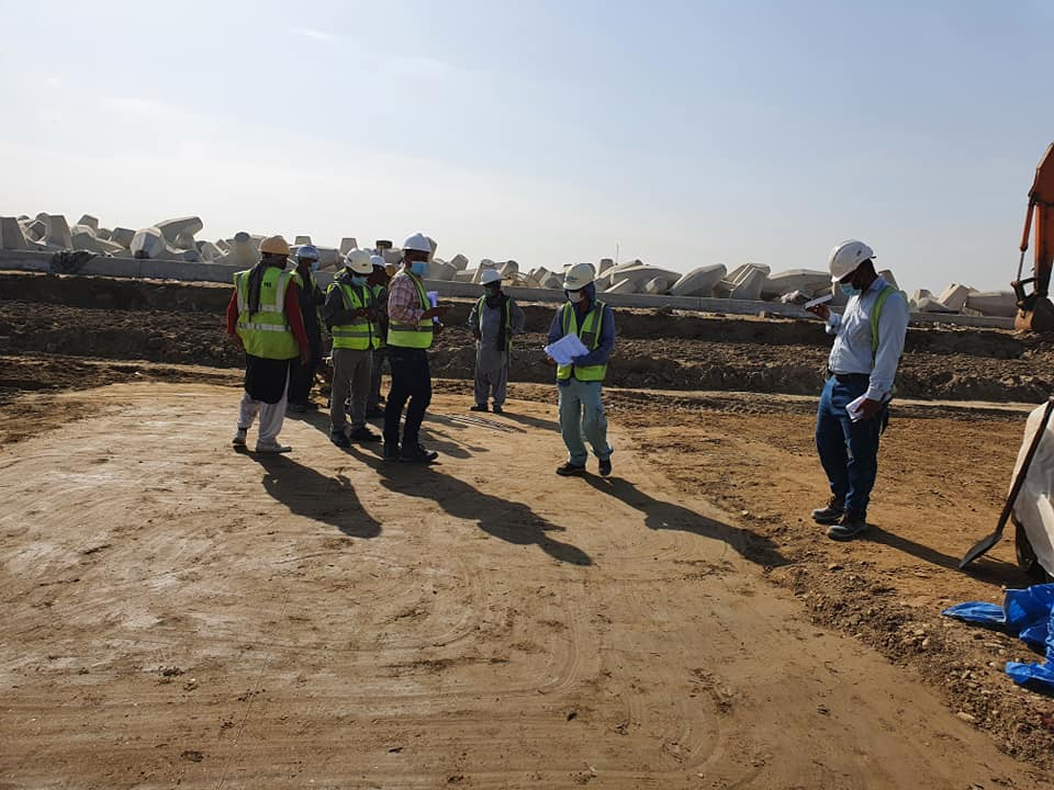 Construction supervision at SAPT - Phase 2