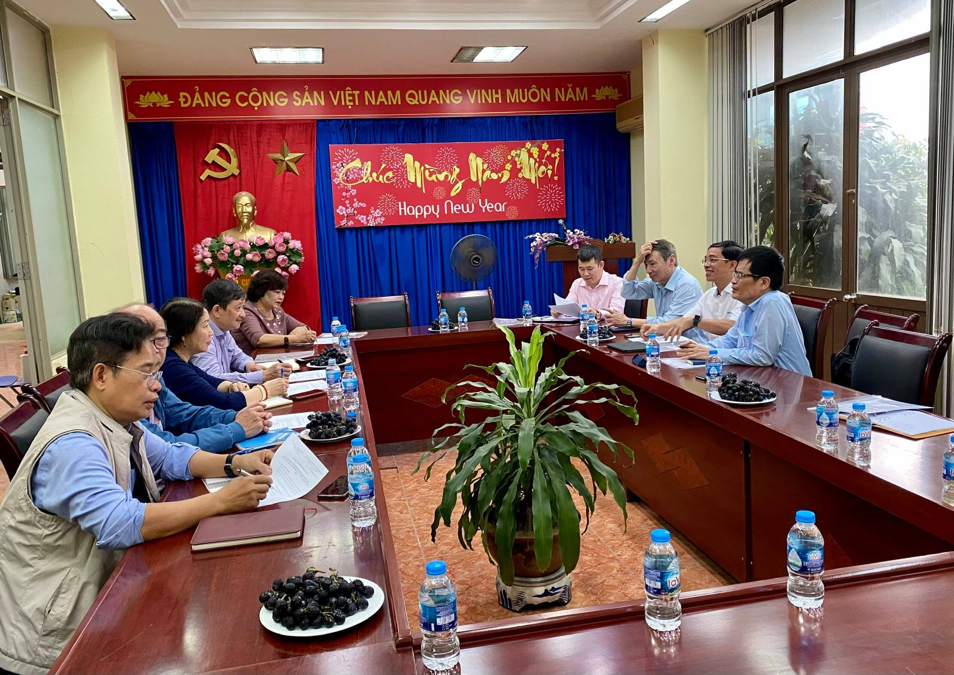 Portcoast participates in the meeting with VAPO and Vietnam Federation of Civil Engineering Association