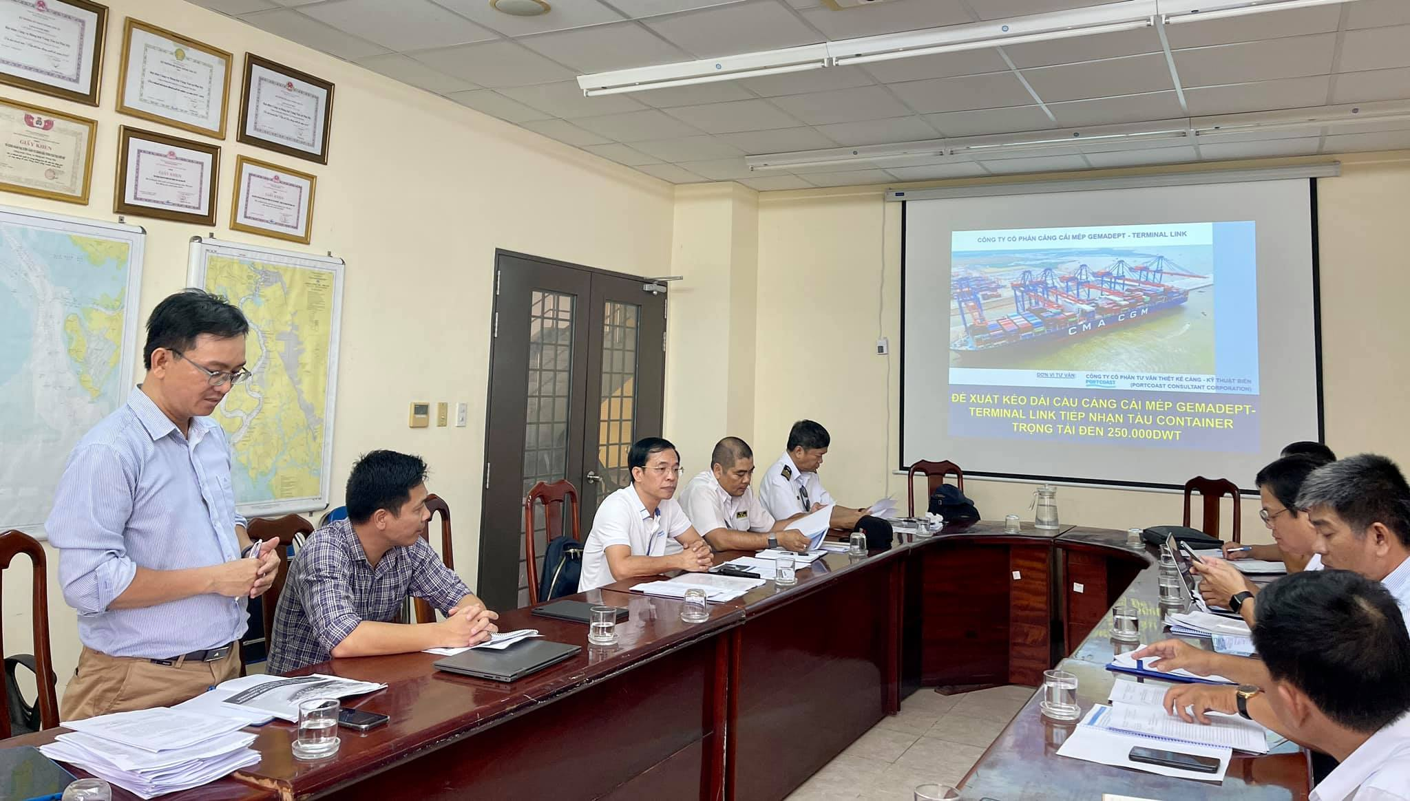 Portcoast has a meeting to discuss about the development of Gemalink port in the future