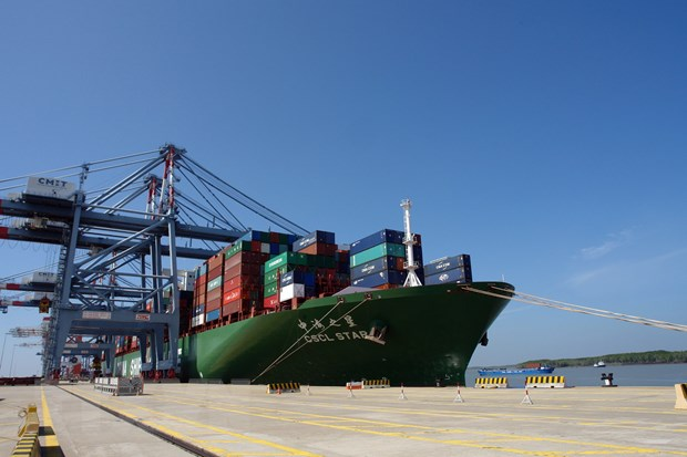 Cai Mep port welcomes the largest container ship ever