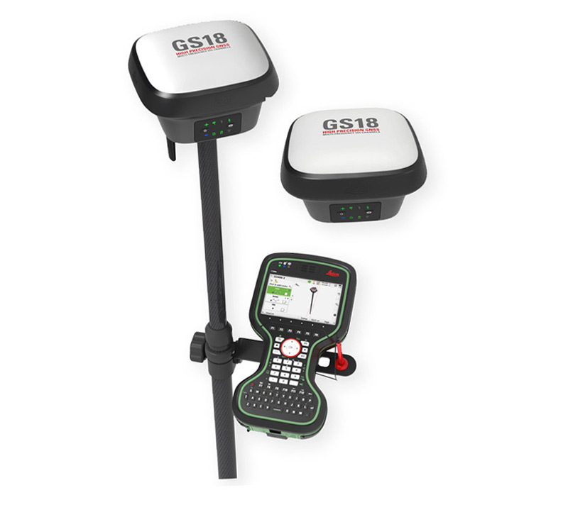 Leica GS18 T – World's Fastest GNSS RTK Rover