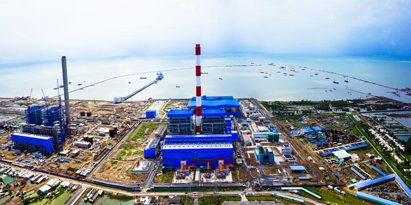 Coal Unloading Jetty<br>Duyen Hai 1 Thermal Power Plant (1,245MW)