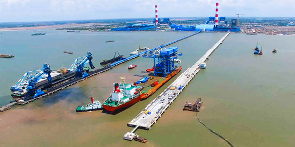 Coal Unloading Jetty<br>Duyen Hai 3 Extension Thermal Power Plant (660MW)