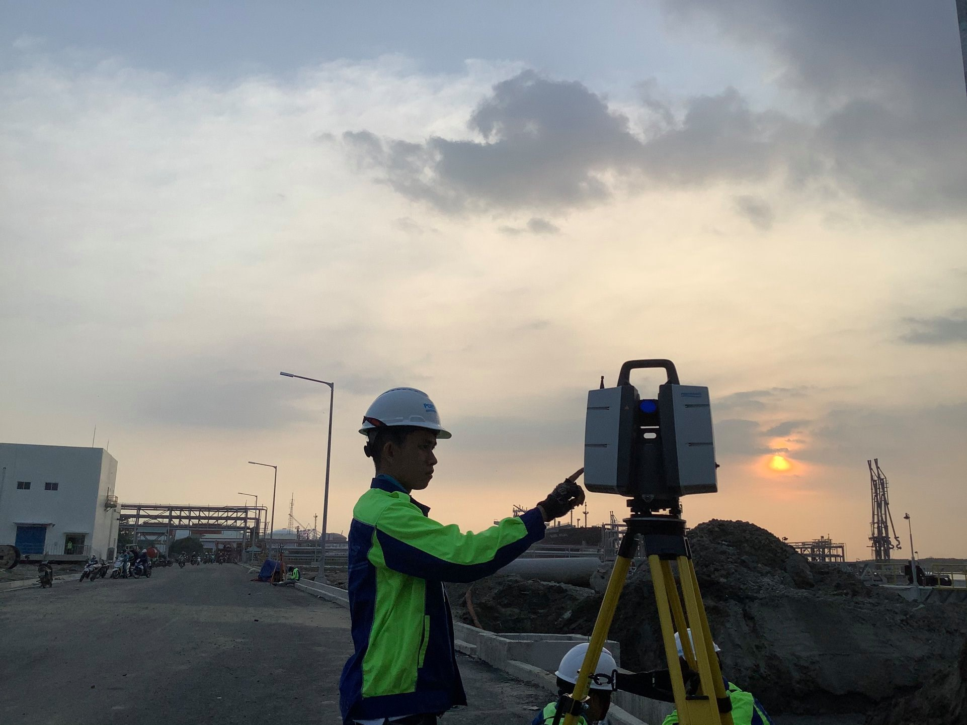 3D Laser Scanning - Hyosung Vina Chemicals Port