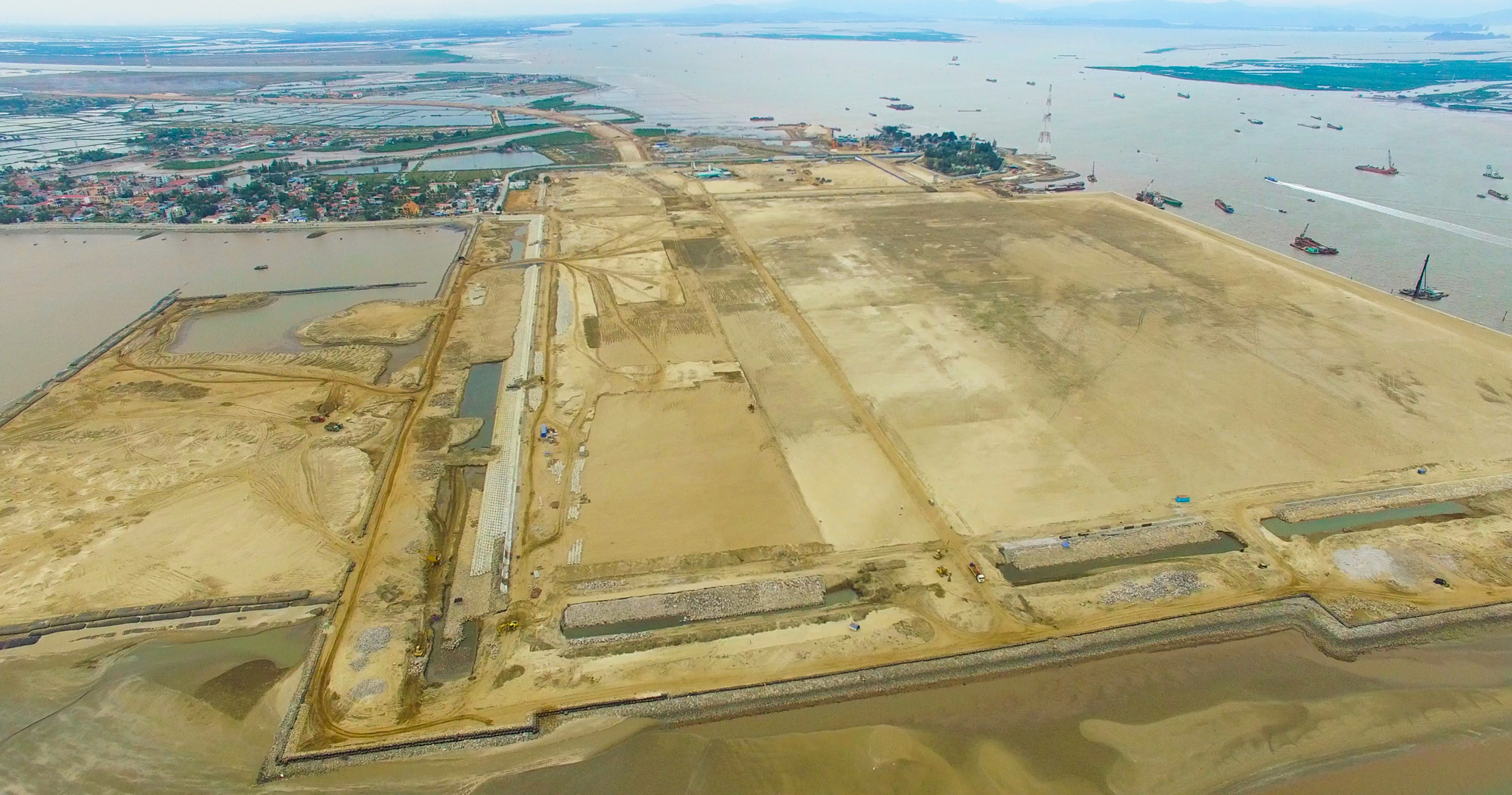 Lach Huyen Port Infrastructure Construction Project