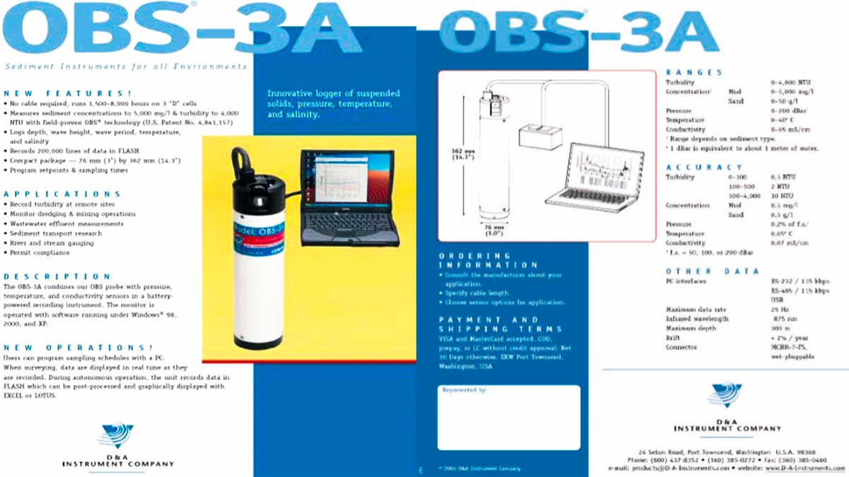 Water Quality Observator - OBS-3A